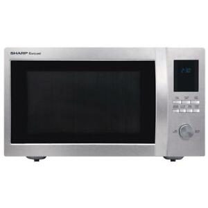 New/Open Box SHARP Microwave 1.6 Cu Ft (SMC1655BS) You Pay! $100 CAD / Reg. $170 USD