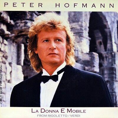 """7"""" PETER HOFMANN Donna e mobile VERDI Rigoletto/ Lucevan le stelle PUCCINI Tosca"""