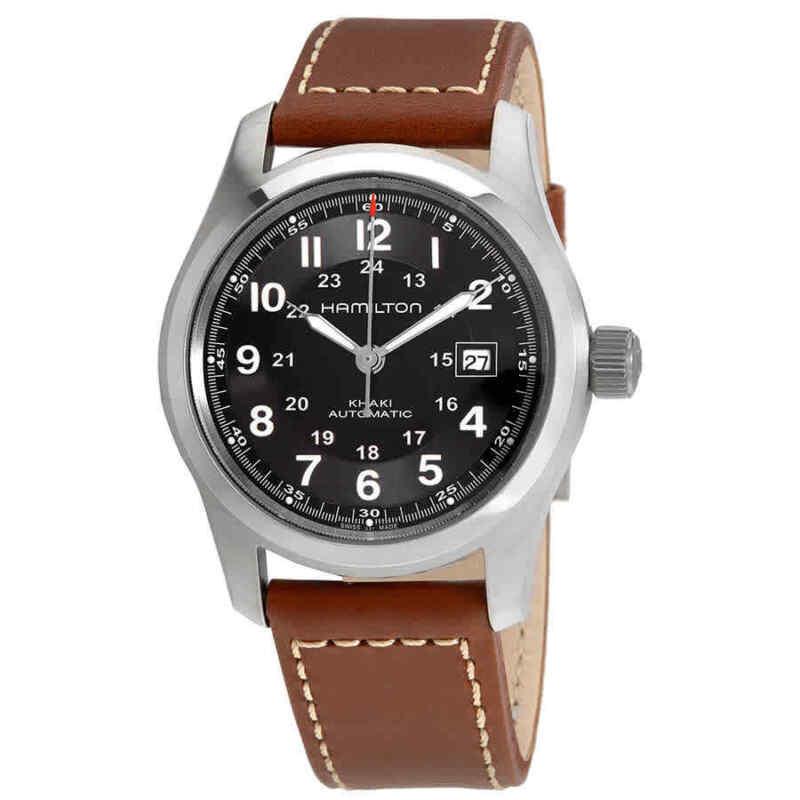 Hamilton-Khaki-Field-Automatic-Black-Dial-Men-Watch-H70555533