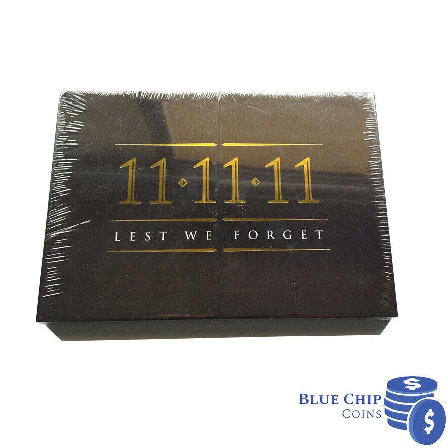 2017 1 Ab Elder 1 Remembrance Anzac 1 Lest we forget = 3x $2 UNC ex RAM in 2x2