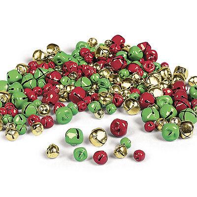 Lot of 200 Christmas Jingle Bells Metal JingleBells Christmas Craft Ornaments
