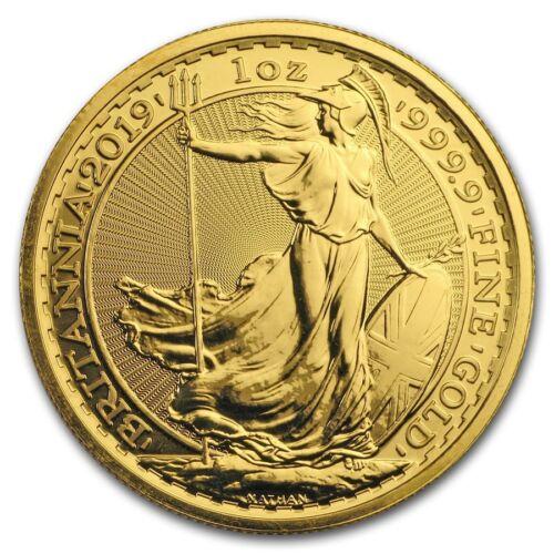 2019 Great Britain 1 oz Gold Britannia Coin BU - SKU #179986