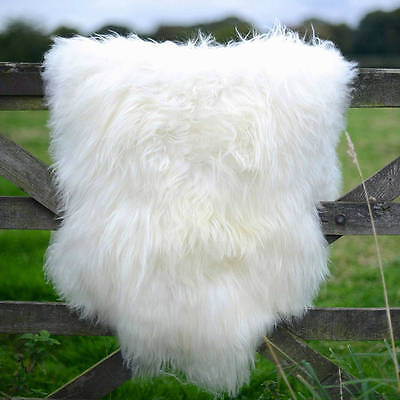Genuine sheepskin rug , soft Dense wool 100% Natural   off white