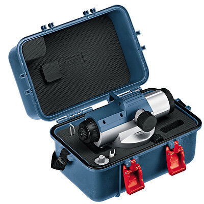 Bosch Gol 26d Auto Optical Level Outdoor Robust Survey 26x 1.6mm 30m Free Ups