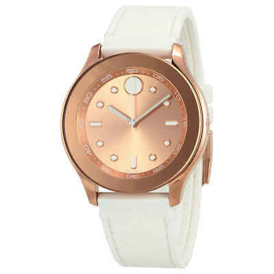 Movado Bold Rose Dial Ladies Watch 3600411