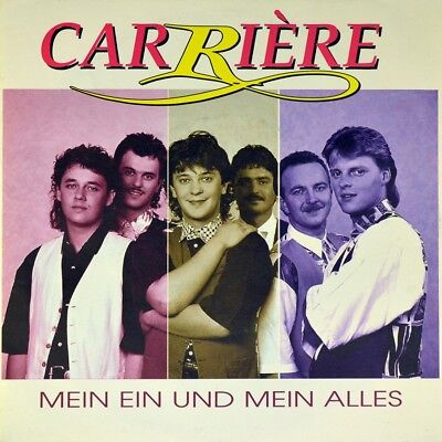 "7"" CARRIÈRE CARRIERE Mein Ein und Alles CARABOO KOCH Austropop A 1995 NEUWERTIG!"