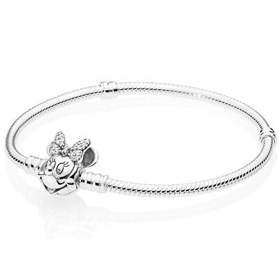 PANDORA Disney Minnie Bracelet Armband 597770 CZ Silber mit Pandora (Disney Armband)