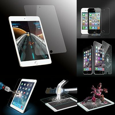Premium HD Tempered Glass Screen Protector for iPhone 5 6 6s 7Plus/iPad/Mini/Air
