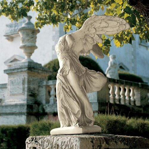"""40.5"""" Greek Winged Victory Statue of Samothrace sculpted figure Roman Victoria"""