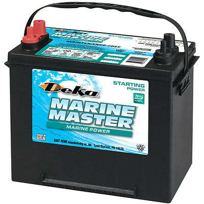 DEKA GENUINE NEW 24M7 Marine Starting Battery 1000AMP Cranking Power (Group 24) Marine Cranking Amps