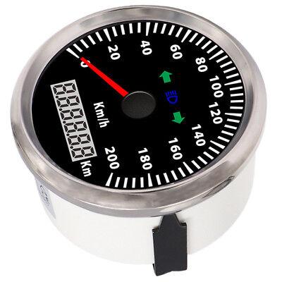 3 3/8'' 85mm GPS Speedometer 200KPH 100% Waterproof  IP67 Car Truck Motorcycle
