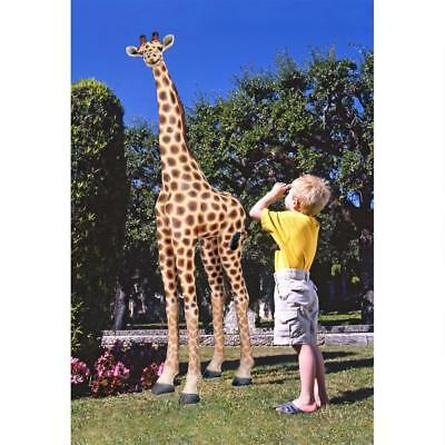 NG31777 Mombasa, the Garden Giraffe Statue - Nearly 8' Tall!