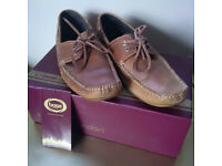 Men's Size 43/UK9 Tan Shoes by Base London, Hardly Worn!!