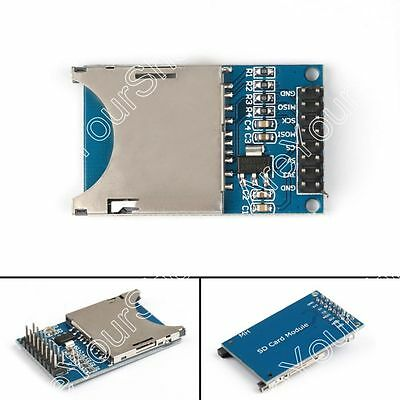 5x Sd Card Module Slot Socket Reader For Arduino Arm Mcu Read And Write