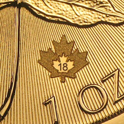 Купить Canada - Royal Canadian Mint - SPECIAL PRICE! 2018 Canada 1 oz Gold Maple Leaf Coin Brilliant Uncirculated BU