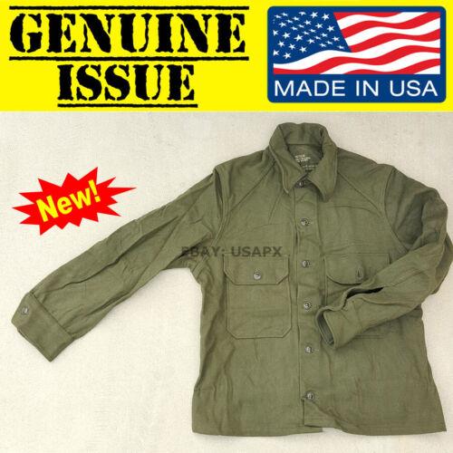 US MILITARY OG108 Korean war Wool Field Shirt M1951 Cold Weather army UTILITY gi