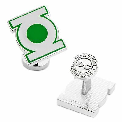 Dc Green Lantern Símbolo Logo Camisa Gemelos - en Caja Boda Diseñador...
