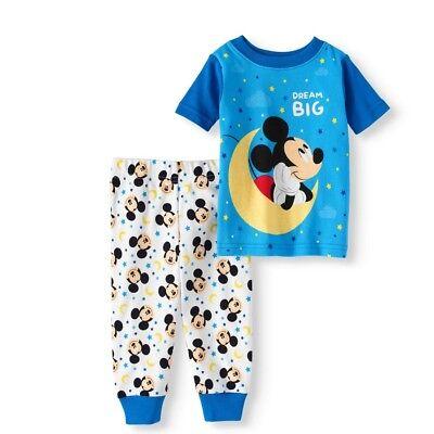 Disney Baby Pajamas (DISNEY MICKEY MOUSE BABY GLOW PAJAMAS SIZE 9 12 18 24 MONTHS)