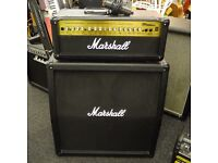 Marshall MG100 HDFX Head and Cabinet with Foot pedals