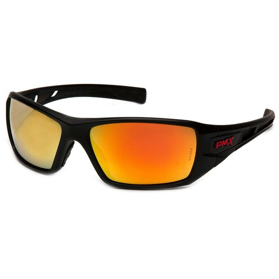 Pyramex Velar Safety Glasses Sunglasses Work Eyewear Choose Lens Color ANSI Z87+ Ice Orange Mirror SBRF10445D