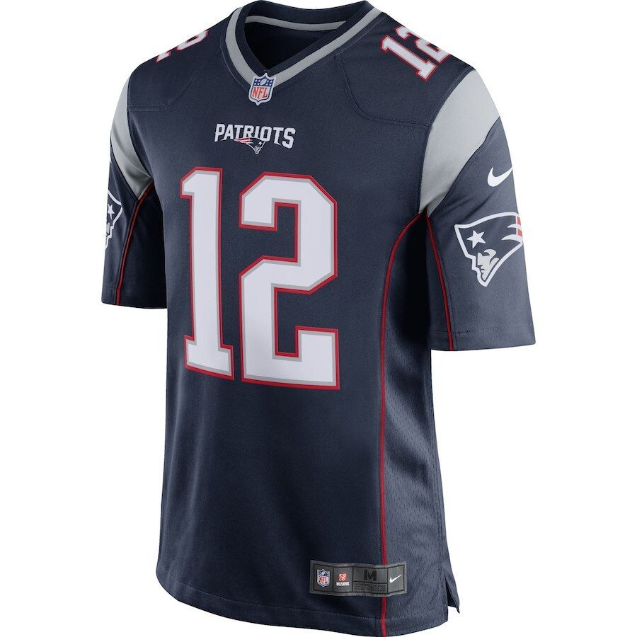 Youth New England Patriots Tom Brady #12 NFL Nike Football N