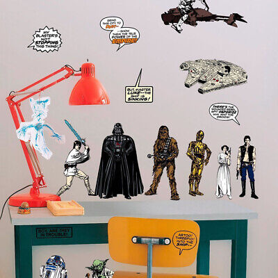 Star Wars Stickers - Pack of 20