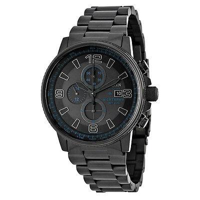 Citizen Ca0295 58E Eco Drive Nighthawk Chronograph Black Mens Watch