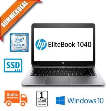 HP Elitebook Folio 1040 G1 Core i5 180GB SSD | 8GB | 14 HD+