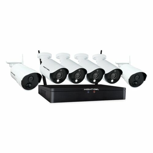 New & Sealed - Night Owl 1080p HD Wired Plus Wireless Security System 6 Cameras