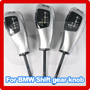 Shift-gear-knob-For-bmw-Z4-E89-X1-E84-E81-E82-E87-silver-left-right-hand-drive