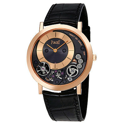 Piaget Altiplano Mens 18 Carat Rose Gold Watch G0A41011