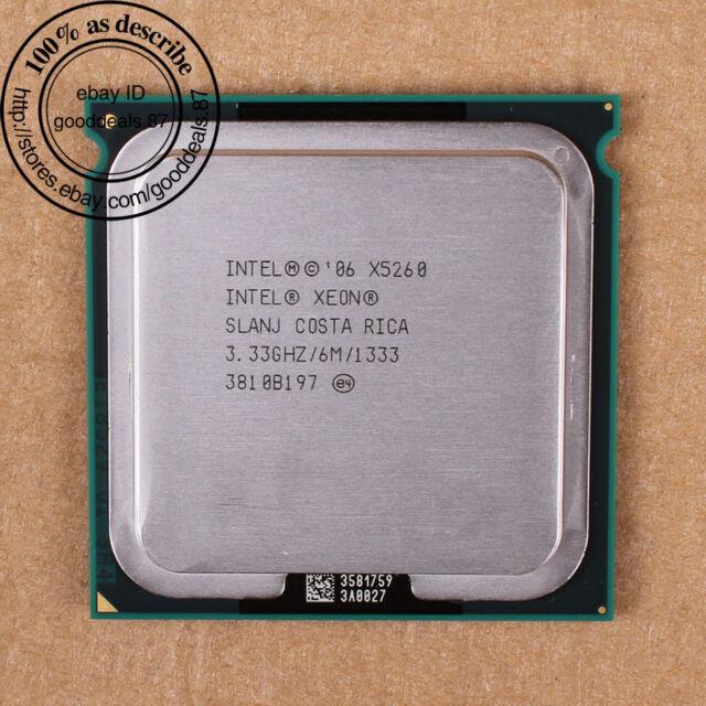Intel Xeon X5260 - 3.33 GHz (EU80573KJ0936M) LGA 771 SLANJ CPU Processor 1333MHz