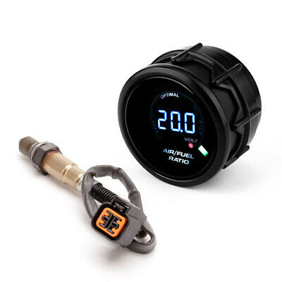 52mm Auto Car Air Fuel Ratio Gauge+O2 Oxygen Sensor For Hyundai Accent 1999-2010