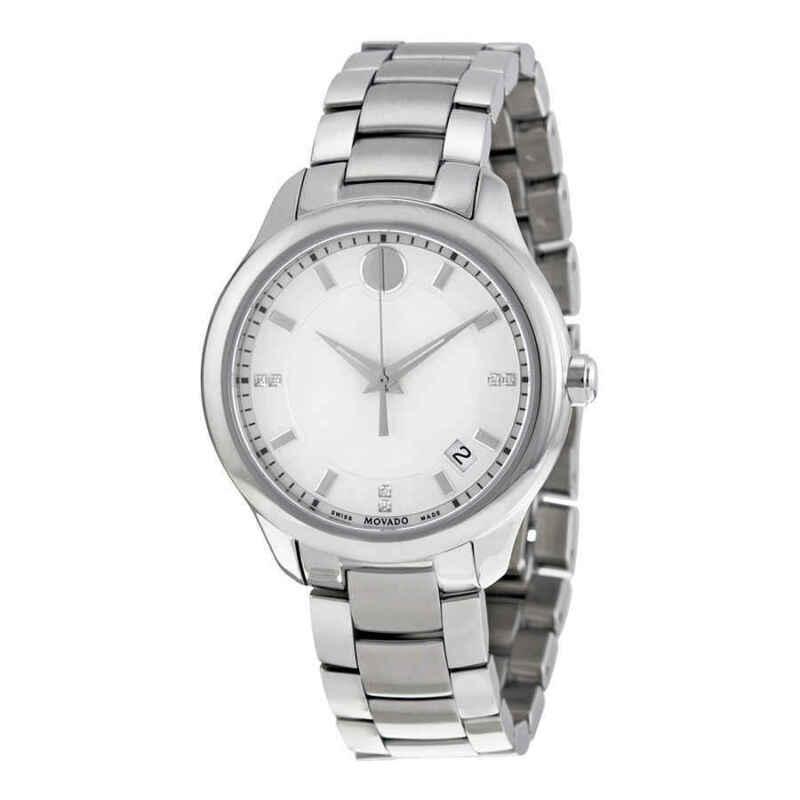 Movado Bellina White MOP Dial Ladies Watch 0606978
