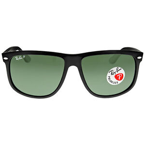 Ray-Ban Highstreet Black Nylon Frame Sunglasses RB4147-601-58-60