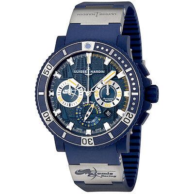 Ulysse Nardin Diver Black Sea Automatic Mens Chronograph Watch