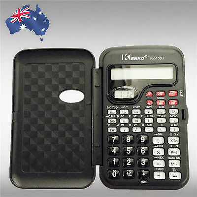 Electronic Scientific LCD Calculator School Office Handheld Function EWCAL 1055
