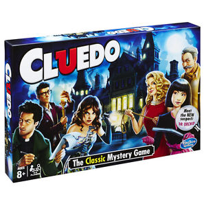 Cluedo The Classic Mystery Board Game - NEW