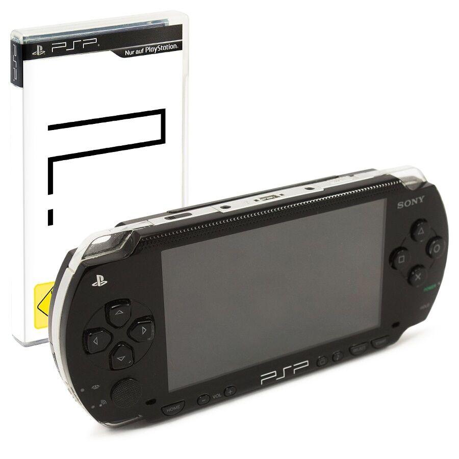 PSP / Sony Playstation Portable Konsole inkl. Stromkabel + GRATIS Spiel