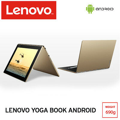 Lenovo Yoga Book A FHD IPS Android 6 3in1 Tablet PC 64Gb LPDDR3 [Champagne Gold]