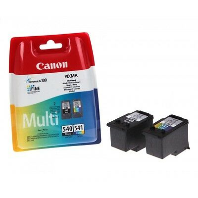 Genuine Canon PG-540 & CL-541 Inks Set for PIXMA MG4250 TS5150 TS5151 - 540 541