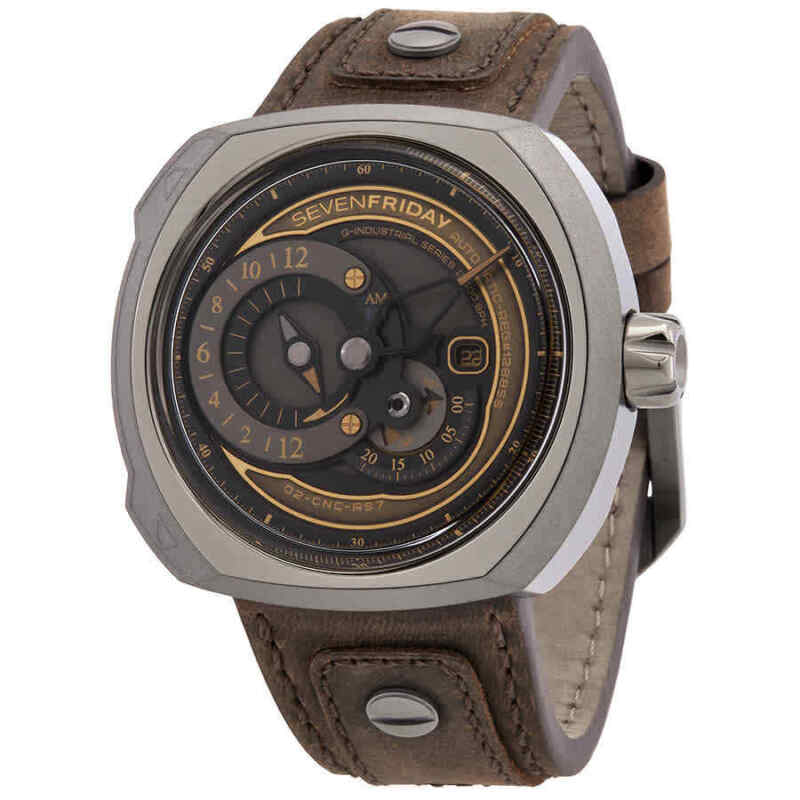 Sevenfriday Q-Series Automatic Brown Dial Men Watch Q2/03