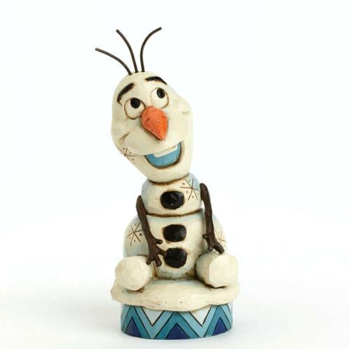 Disney*OLAF PERSONALITY POSE*New*NIB*Jim Shore*FROZEN*Silly Snowman*4039083