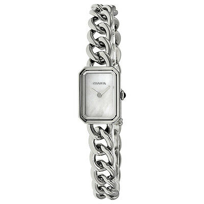 Chanel Premiere Mother of Pearl Dial Stainless Steel Ladies Watch H3249