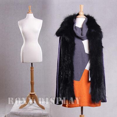 Female Size 6-8 Mannequin Manikin Women Dress Form F68wbs-01nx
