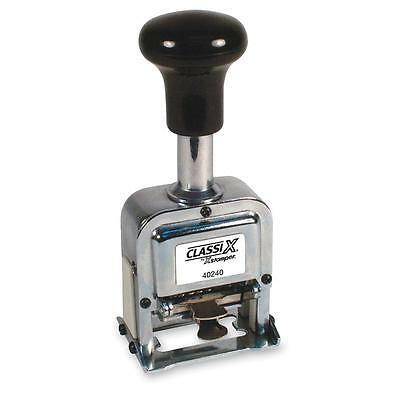 Xstamper Auto Number Stamp Self-Inking 6 Wheels 1 Size 40240