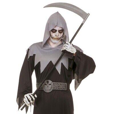 SENSENMANN SENSE SICHEL Halloween Fasching Schnitter Tod Kostüm Party Deko 5286