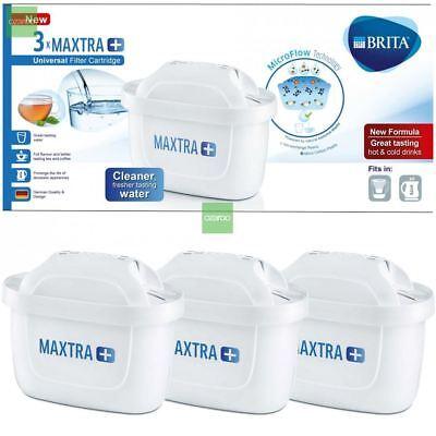 3 x BRITA Maxtra+ Plus Water Filter Jug Replacement Cartridges Refills UK Pack