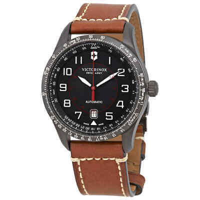 Victorinox Airboss Automatic Black Dial Men's Watch 241821
