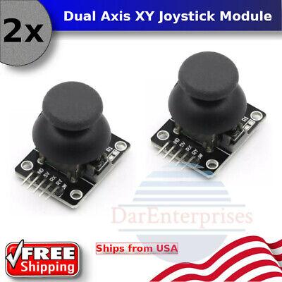 2pcs Joystick Breakout Module Shield Ps2 Joystick Game Controller For Arduino